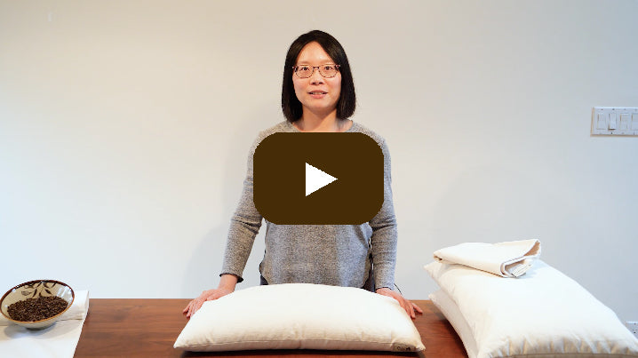 ComfyComfy Perfect Buckwheat Pillow video