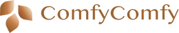 ComfyComfy Buckwheat Pillow Logo