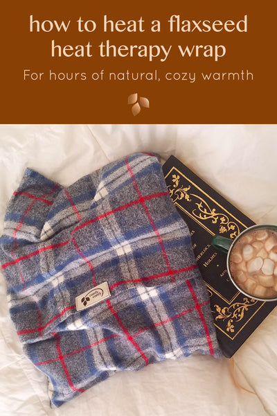 ComfyComfy how to heat a flaxseed heat therapy wrap