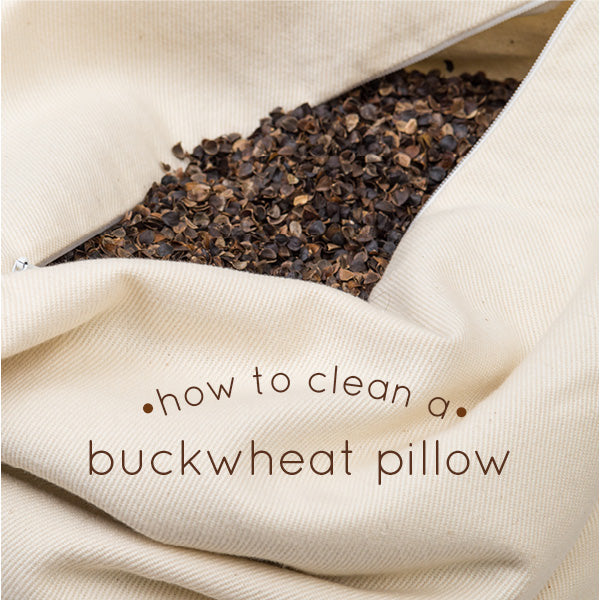how to clean a buckwheat pillow comfycomfy. Black Bedroom Furniture Sets. Home Design Ideas