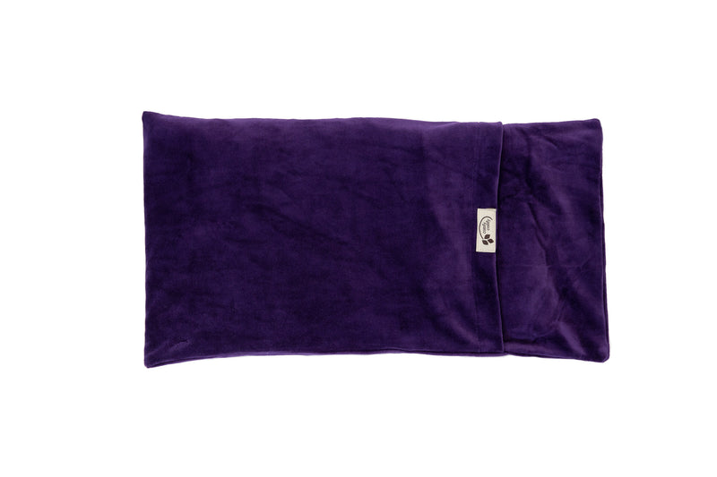 ComfyWarmer Flaxseed Heat Therapy Wrap - ComfyComfy in purple large