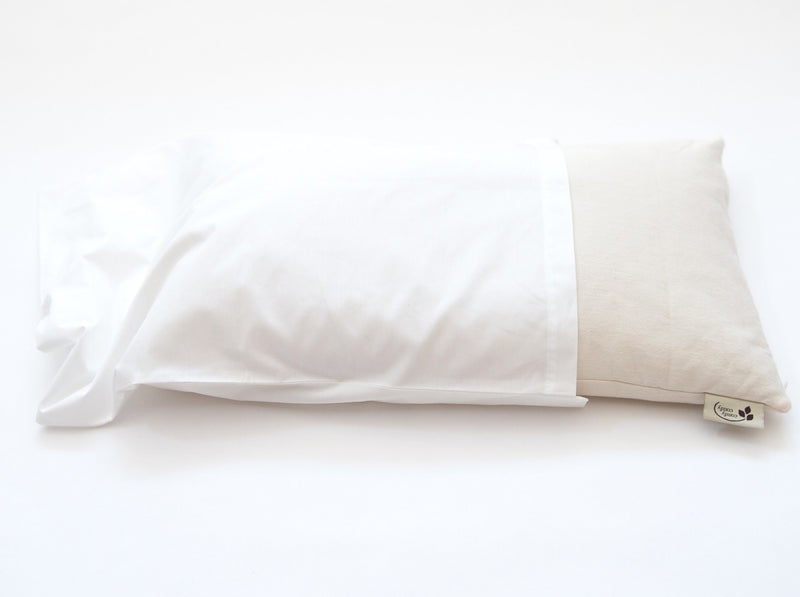 ComfyComfy buckwheat pillow with pillowcase organic