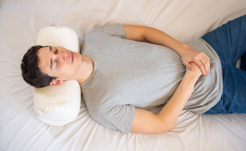 ComfyNeck Buckwheat Pillow + Pillowcase