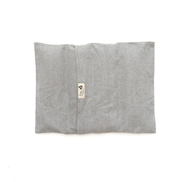 ComfyWarmer flaxseed heat therapy wrap in grey
