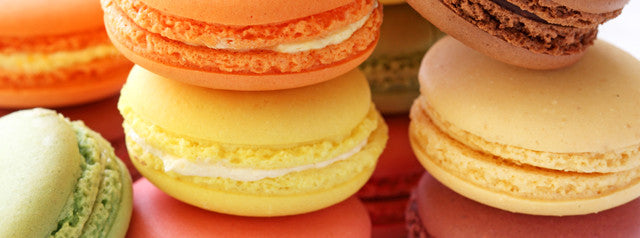 more than 20 kinds of macaroons