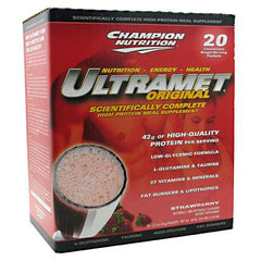 Champion Nutrition Ultramet Original Strawberry
