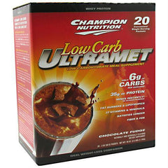 Champion Nutrition Low Carb Ultramet Chocolate Fudge