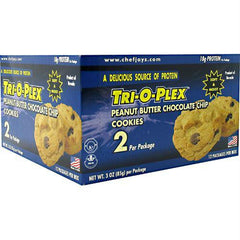 Chef Jay's Tri-o-plex Cookies Peanut Butter Chocolate Chip
