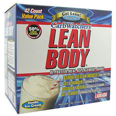 Labrada Nutrition Carb Watchers Lean Body Vanilla Ice Cream