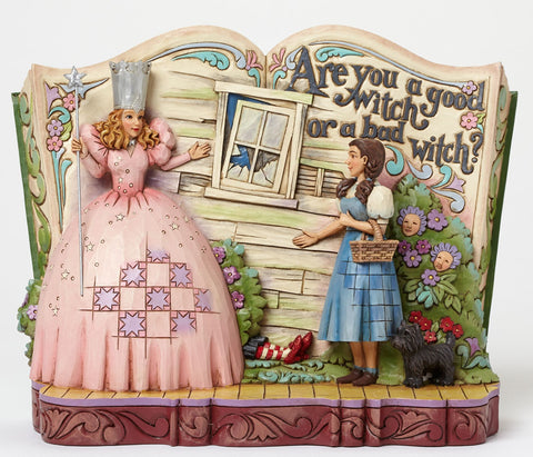 Are You a Good Witch or a Bad Witch Jim Shore Storybook Figurine - Wonder Pop