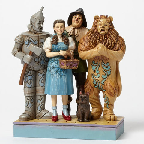 "Dorothy & Friends ""Wonderful Adventure"" Jim Shore Scene Figurine - Wonder Pop"