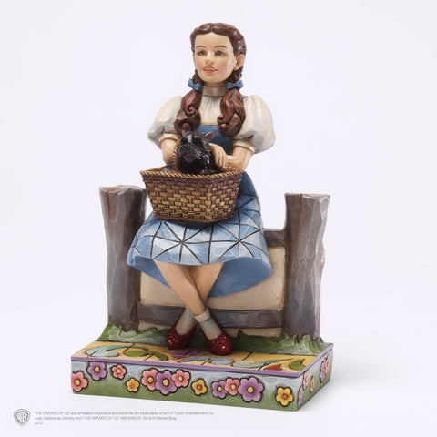 "Dorothy & Toto ""I Keep Forgetting I'm Not in Kansas"" Jim Shore Figurine - Wonder Pop"