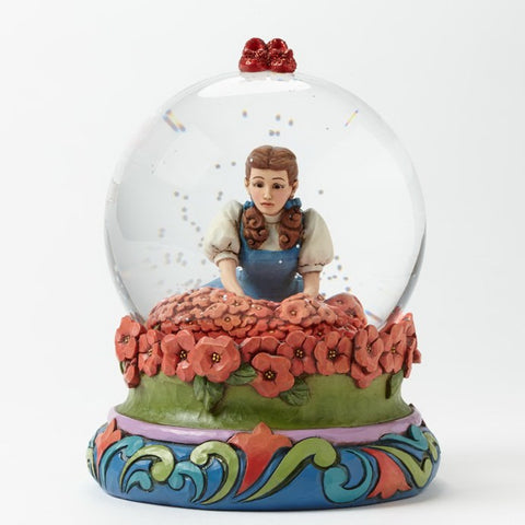 "Dorothy in Poppy Field ""Spell Broken"" Jim Shore 100MM Waterglobe Figurine - Wonder Pop"