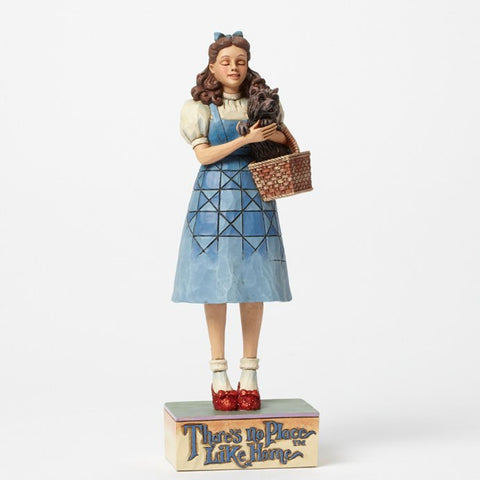 "Dorothy w/Toto Clicking her Heals ""There's No Place Like Home"" Jim Shore Figurine - Wonder Pop"