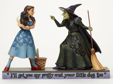 Dorothy with Wicked Witch of the West Jim Shore Figurine - Wonder Pop
