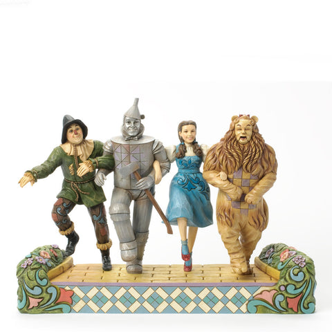 "Dorothy & Friends ""On our way to see the Wizard"" 75th Anniversary Tribute Figurine , Jim Shore Figurine - Enesco, Living for Pop"