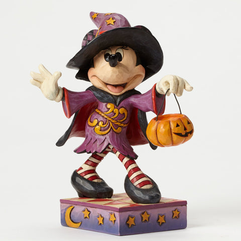 Minnie Mouse as Witch Jim Shore Figurine - Wonder Pop