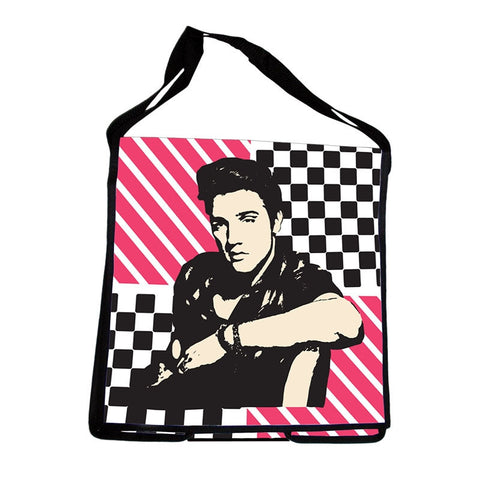 Elvis Presley Messenger Tote - Wonder Pop