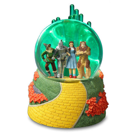 Emerald City 4 Character Lighted Musical Water Globe - Wonder Pop
