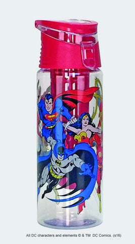 Justice League Infuser Water Bottle - Wonder Pop