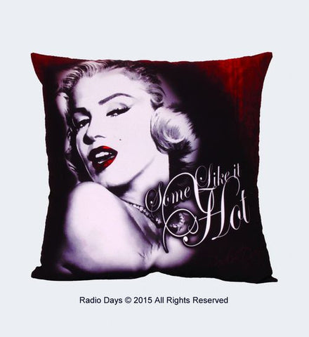 "Marilyn Monroe ""Some Like it Hot"" Pillow - Wonder Pop"