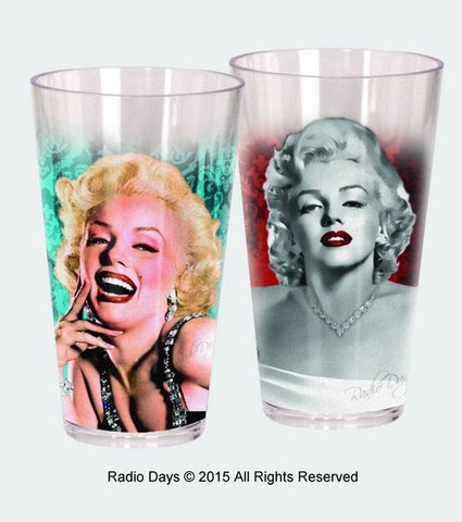 Marilyn Monroe set of 2 Acrylic Cups - Wonder Pop