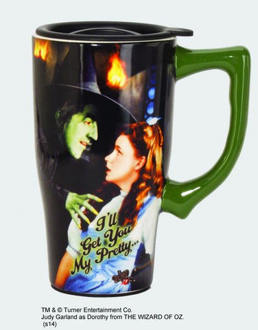 """I'll Get you My Pretty"" Travel Mug - Wonder Pop"
