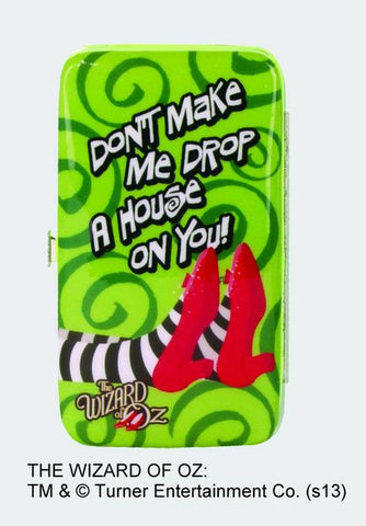 """Don't Make Me Drop a House on You!"" Phone Wristlet - Wonder Pop"
