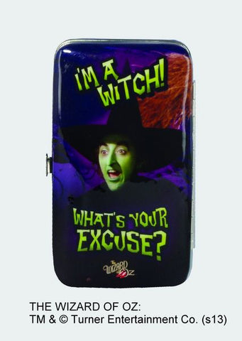 """I'm a Witch! What's Your Excuse?"" Phone Wristlet - Wonder Pop"