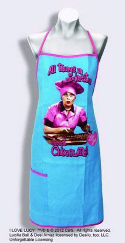 """All things in moderation except Chocolate"" Apron - Wonder Pop"