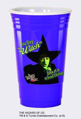You Say Witch... Acrylic Party Cup - Wonder Pop