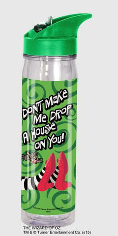 """Don't Make Me..."" Flip Top Water Bottle - Wonder Pop"