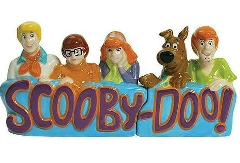Scooby-Doo and Gang Ceramic Salt & Pepper Shakers