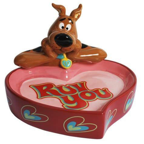 Scooby-Doo Ruv You Ceramic Candy Dish