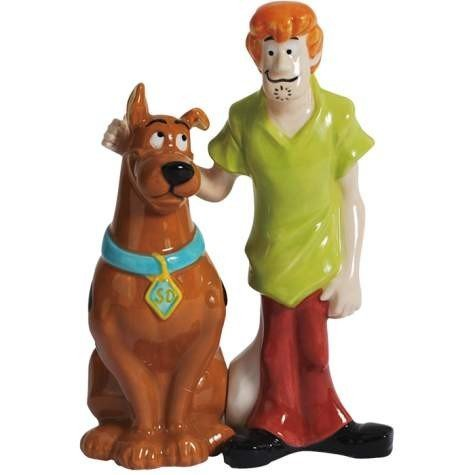 Scooby Doo and Shaggy Ceramic Salt & Pepper Shakers