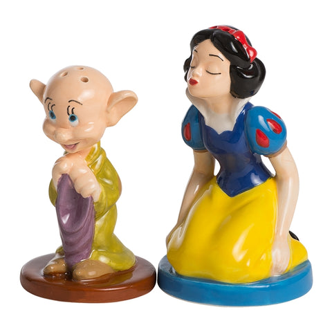 Snow White and Dopey Ceramic Salt & Pepper Shakers