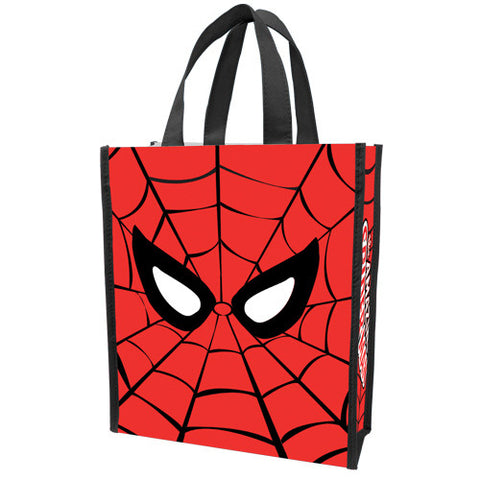 Spider-man Small Reusable Tote/Lunch Bag/Gift Bag - Wonder Pop
