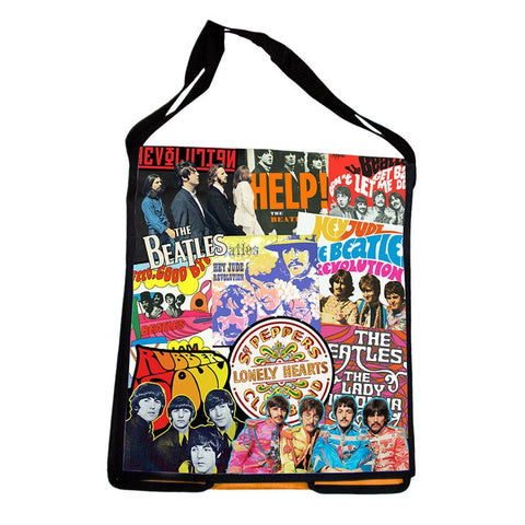 The Beatles Messenger Tote - Wonder Pop