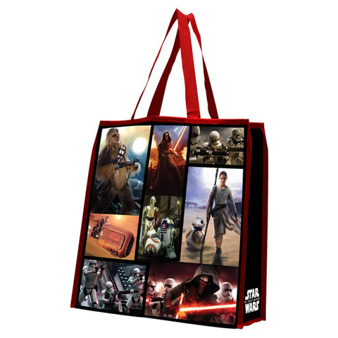 Star Wars The Force Awakens Large Recycled Tote - Wonder Pop