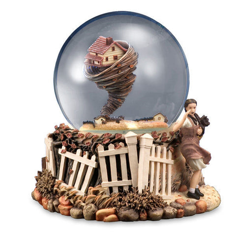 Tornado Musical Snow Globe - Wonder Pop