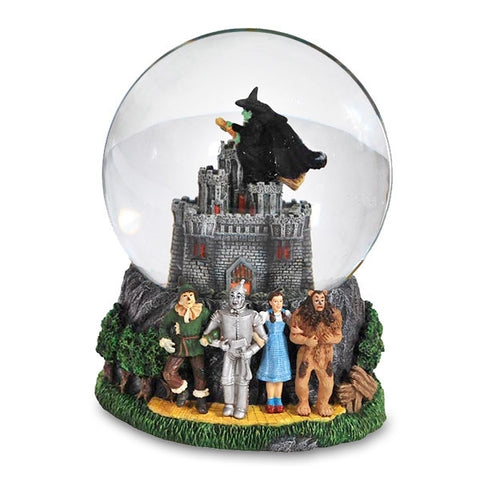 Wicked Witch Castle 120mm Musical Water Globe - Wonder Pop
