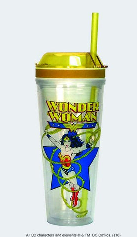 Wonder Woman Combo Cup - Wonder Pop