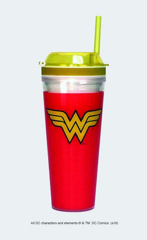 Wonder Woman Logo Combo Cup - Wonder Pop