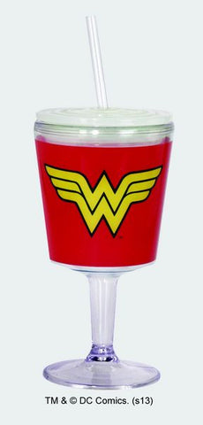 Wonder Woman Logo Goblet - Wonder Pop