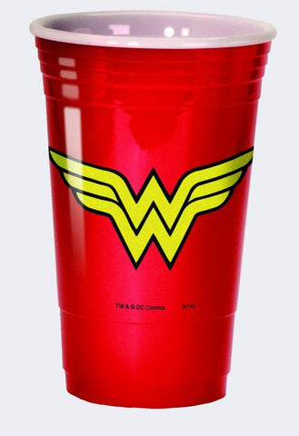 Wonder Woman Logo Party Cup - Wonder Pop