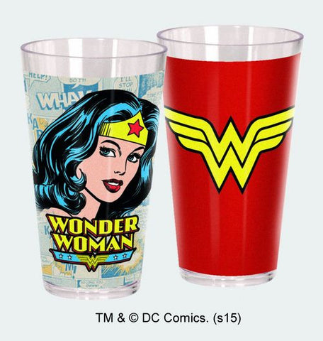 Wonder Woman set of 2 Acrylic Cups - Wonder Pop