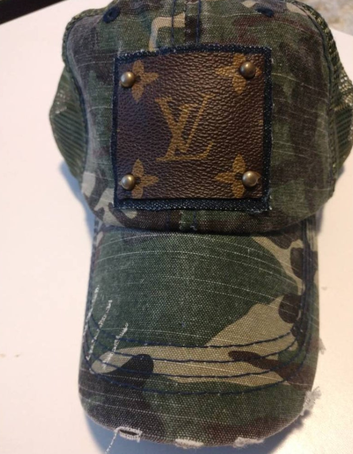 Louis Vuitton Camo Hat