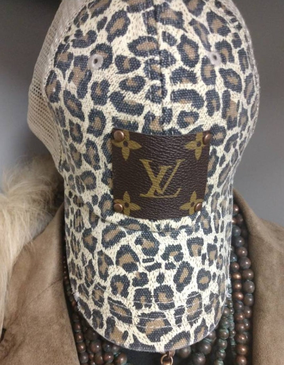 Louis Vuitton Leopard Hat