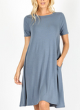 Sweet Intentions Mock Neck Dress