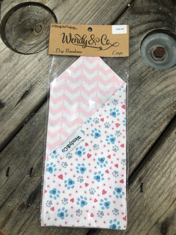 Wendy & Co Large Packaged Dog Bandana